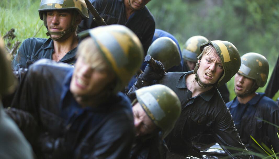 OPPTAK: Fra opptaksprøvene til utdanning i Forsvaret. Nå går det mot søkerrekord.