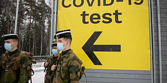 Pandemien har kostet Forsvaret 348 millioner kroner