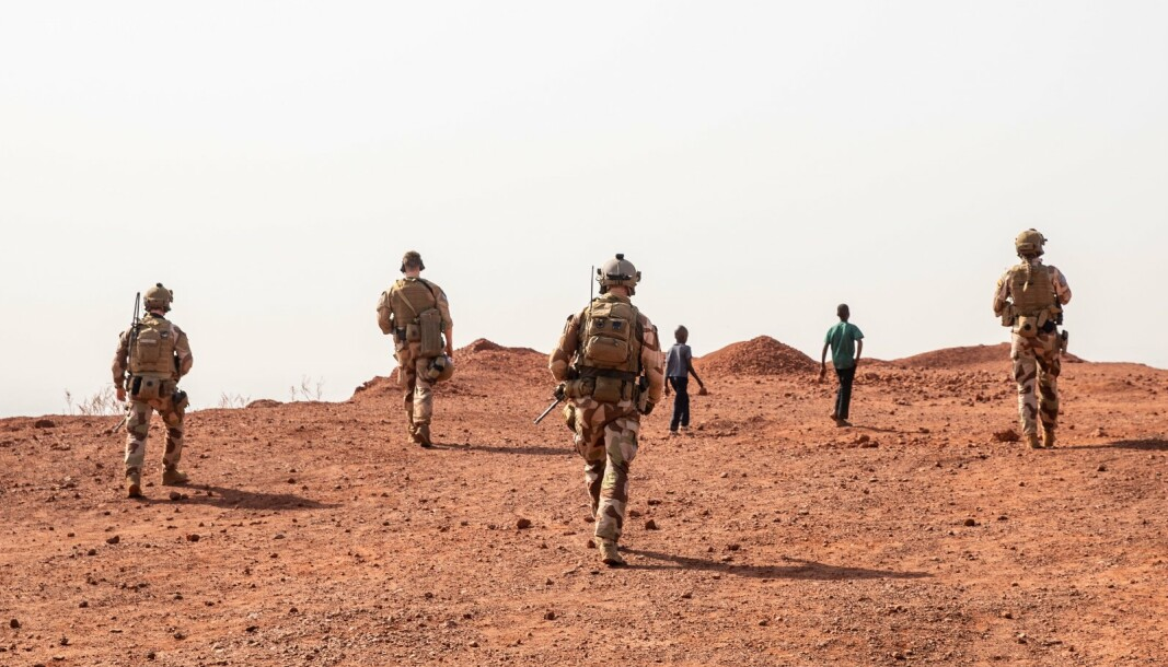 Det er bra at forsvarssjefen ønsker at flere skal være åpne når de sliter, skriver Borgny Tjelle og Anders Aks i NVIO. Her ser vi norske soldater i Mali.