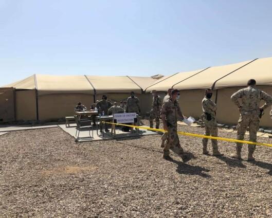 Norge venter med vaksinen som ble gitt til norske soldater i Irak
