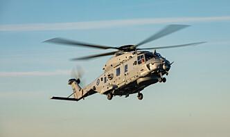Har halvert ambisjonsnivået for NH90