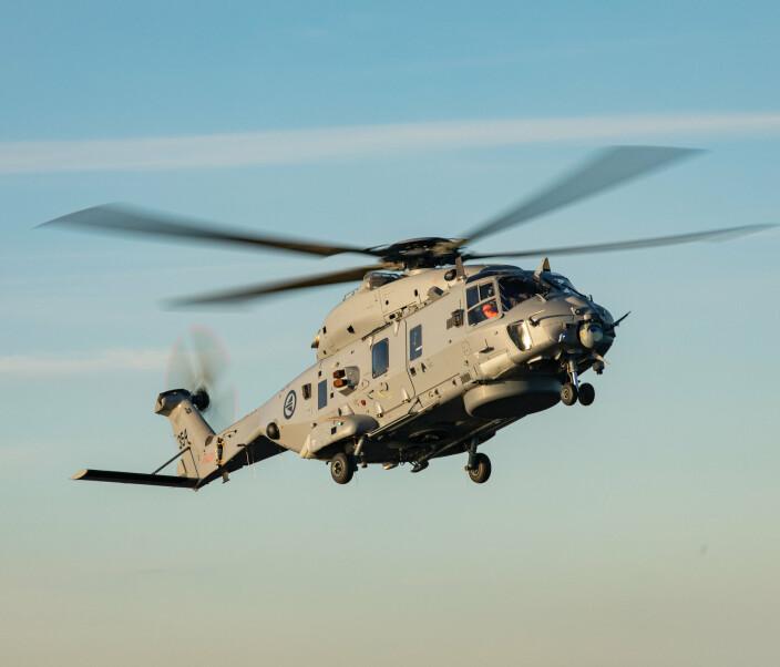 Forsvarssjefen: – NH90 ikke levert i henhold til målsetningen