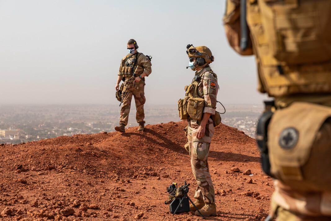 BIDRAR: Det er norske FN-soldater utplassert i Mali. Nå skal det også sendes soldater som en del av den franske Takuba-styrken.