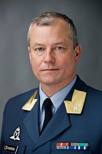 BEKREFTER: Forsvarssjefens kommunikasjonssjef, brigader Eystein Kvarving.