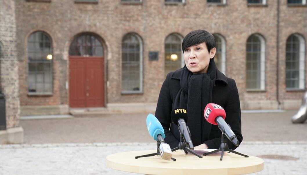 HEMMELIGHOLD: Onsdag ble det klart at Utenriksdepartementet (UD) ikke vil etterkomme anmodningen som kom fra Stortingets presidentskap i slutten av mars.