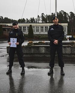 Sjøforsvaret deler ut feltsportmedalje for første gang