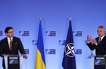 Ukraina vurderer atomvåpen hvis Nato-medlemskap avvises