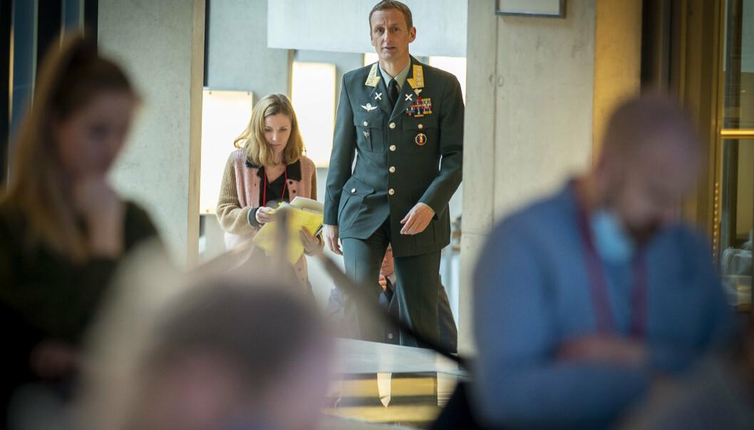 SKAL UT: Forsvarssjef Eirik Kristoffersen sier at de norske styrkene blir blant de siste som forlater Afghanistan.