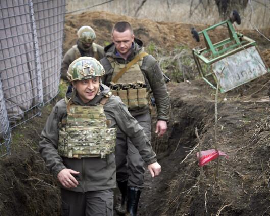 Frankrike, Tyskland og Ukraina skal diskutere den spente situasjonen i Øst-Ukraina