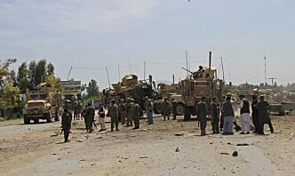 Afghanske regjeringssoldater drept i Taliban-angrep