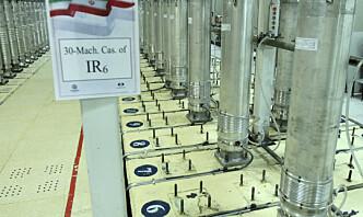Iran har startet ny anriking av uran