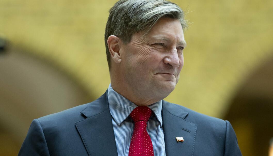 POSITIV: – Det er positivt med styrket amerikansk militært nærvær i Norge mener stortingsrepresentant Christian Tybring-Gjedde (Frp).