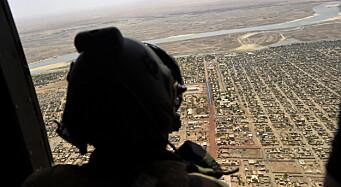Ber om ny tilnærming til jihadistopprøret i Sahel-regionen