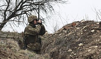 Soldat drept i Øst-Ukraina