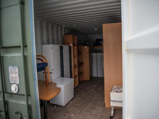 Her er det interiør til kaserner og befalsforleging klart til gjenbruk