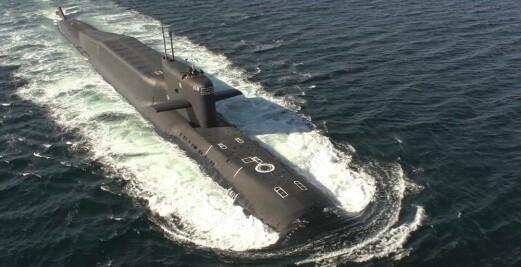 Ballistisk missilubåt del av storøvelse i Barentshavet