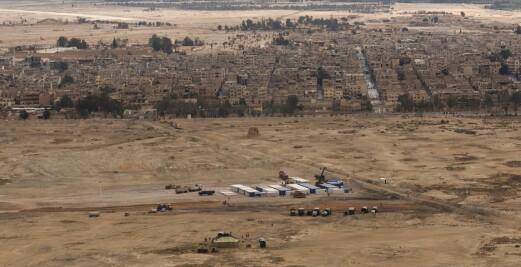 Russland hevder å ha drept opptil 200 krigere i Syria