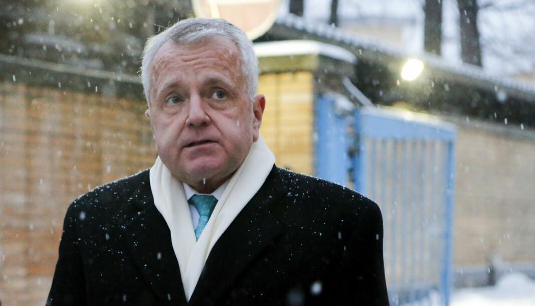 AMBASSADØR: Den amerikanske ambassadøren John Sullivan har blitt anbefalt å midlertidig forlate Russland på grunn av det forverrede forholdet mellom landene.