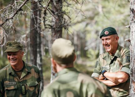3700 søkere kjemper om 240 plasser ved Forsvarets høgskole