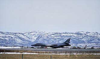 Nettbrett på avveie skal ha skapt problemer for amerikansk bombefly på Ørland