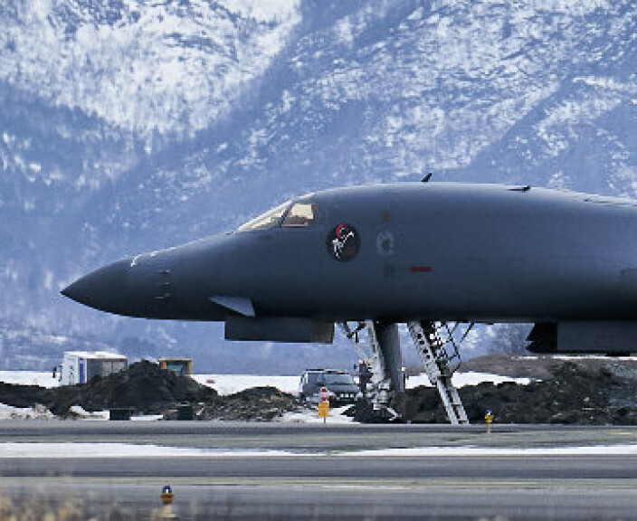 Nettbrett i motoren kan ha skapt problemer for amerikansk bombefly