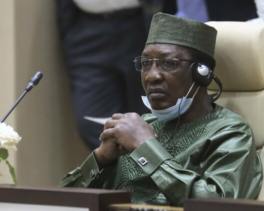 Tsjads president døde etter kamphandlinger