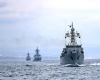 Russiske jagerfly sluttet seg til omstridt øvelse i Svartehavet