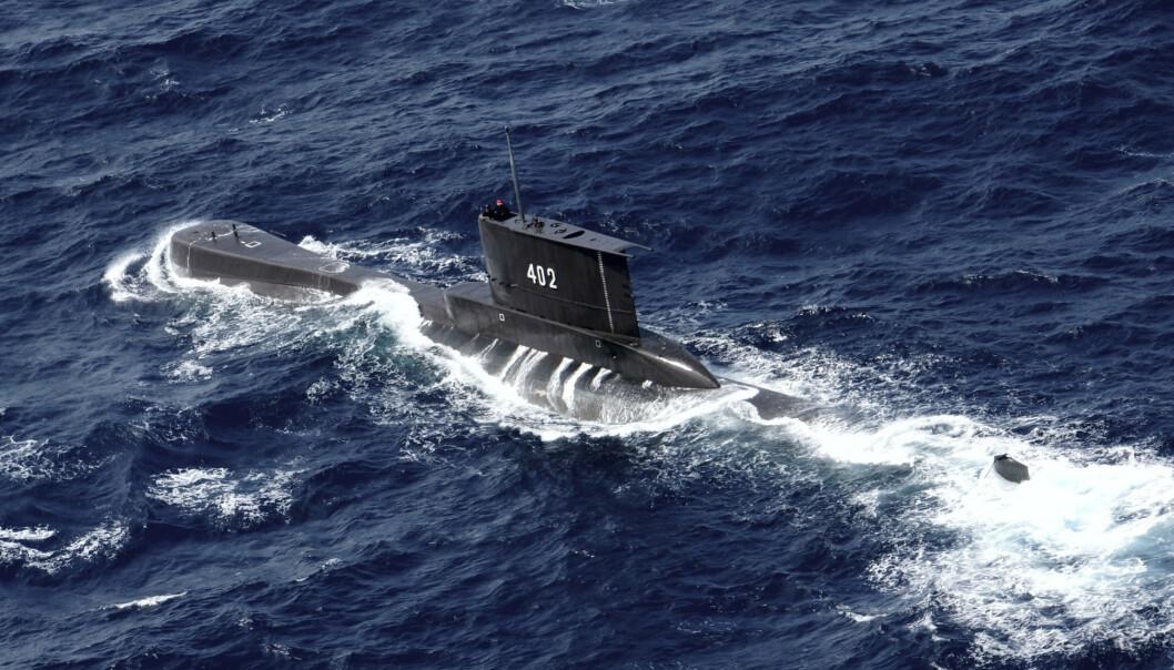 Den savnede indonesiske ubåten på et bilde fra 2014.