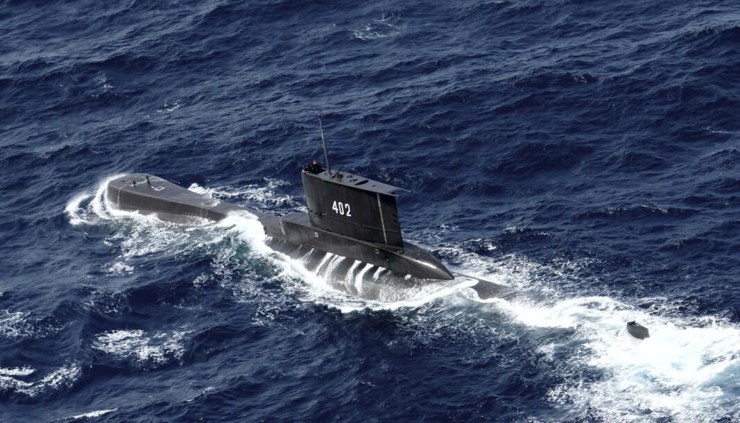 FORSVANT: Den savnede indonesiske ubåten hadde 53 personer ombord og forsvant under en våpenøvelse utenfor Bali.
