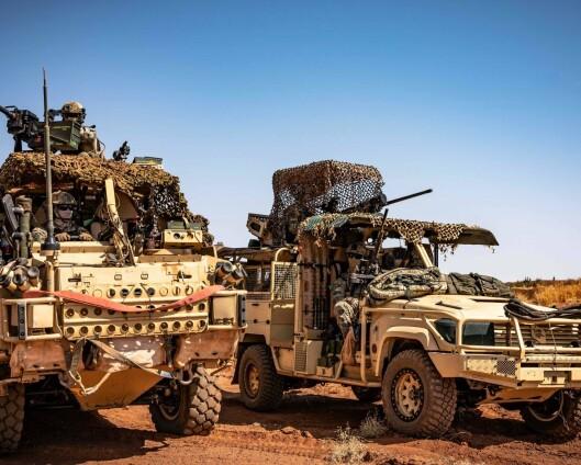 Tre svenske soldater såret i Mali