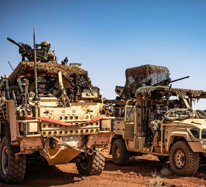 Kjørte på veibombe: Tre svenske soldater såret i Mali