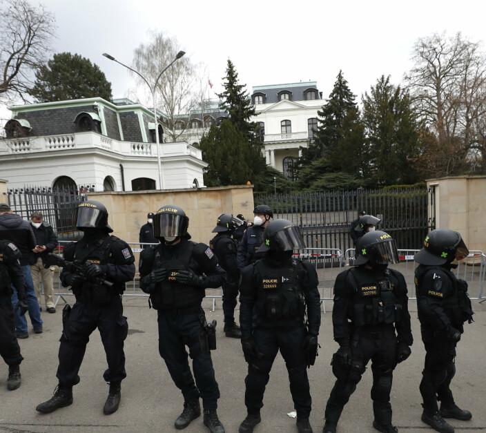 Krisen mellom Tsjekkia og Russland blir stadig dypere
