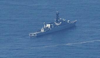 Desperat jakt etter savnet ubåt