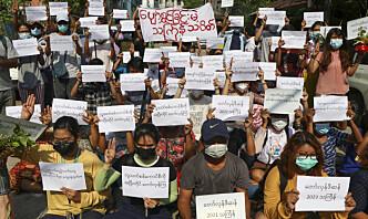 Nye Myanmar-sanksjoner fra EU