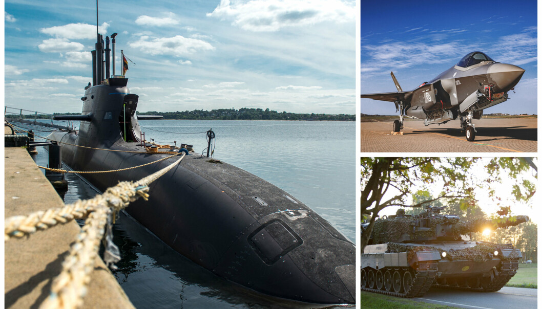 INVESTERINGER: Nye ubåter, ferdigstille anskaffelse av F-35 og ytterligere mekanisering av brigaden er blant materiellinvesteringene i Forsvaret frem mot 2028.