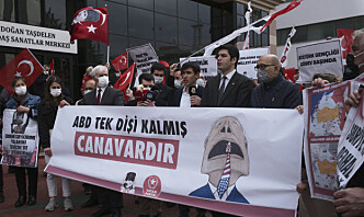 Erdogan advarer Biden etter folkemord-erklæring