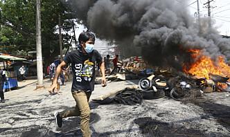 Myanmars militærjunta krever stabilitet