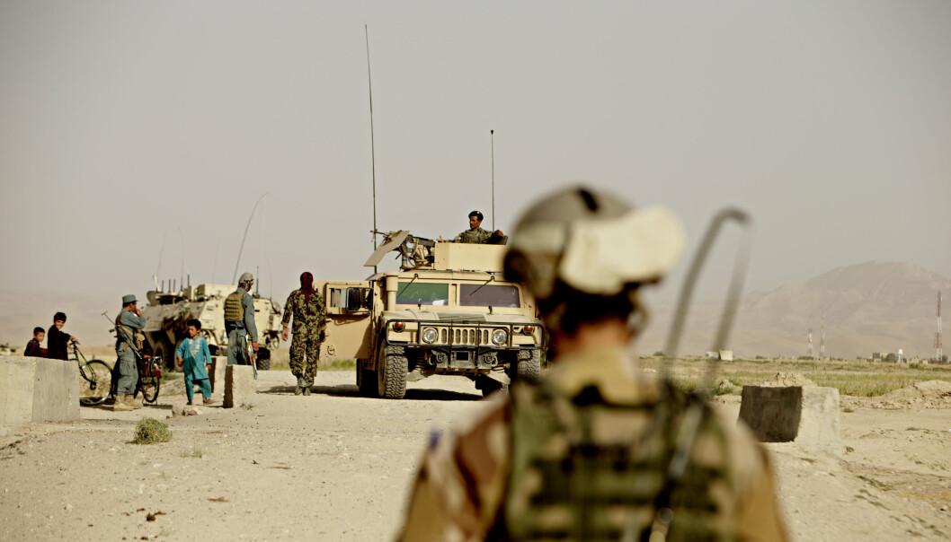 STABILISERINGSSTYRKER: Afghanske og norske styrker på oppdrag i Almar distrikt i Faryab-provinsen i Afghanistan