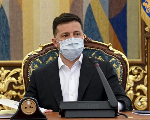 Ukrainas president åpner for å møte Putin i Vatikanet