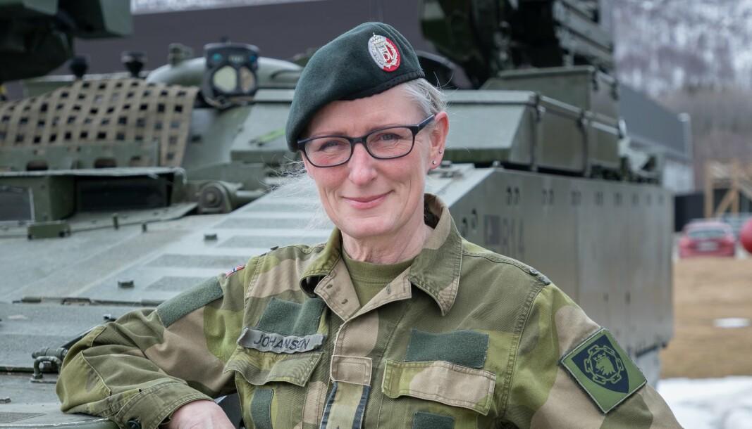 NY SJEF: Major Inger-Ann Johansen blir ny stasjonssjef på Jan Mayen.