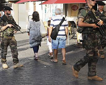 Franske soldater risikerer straff etter borgerkrig-utspill