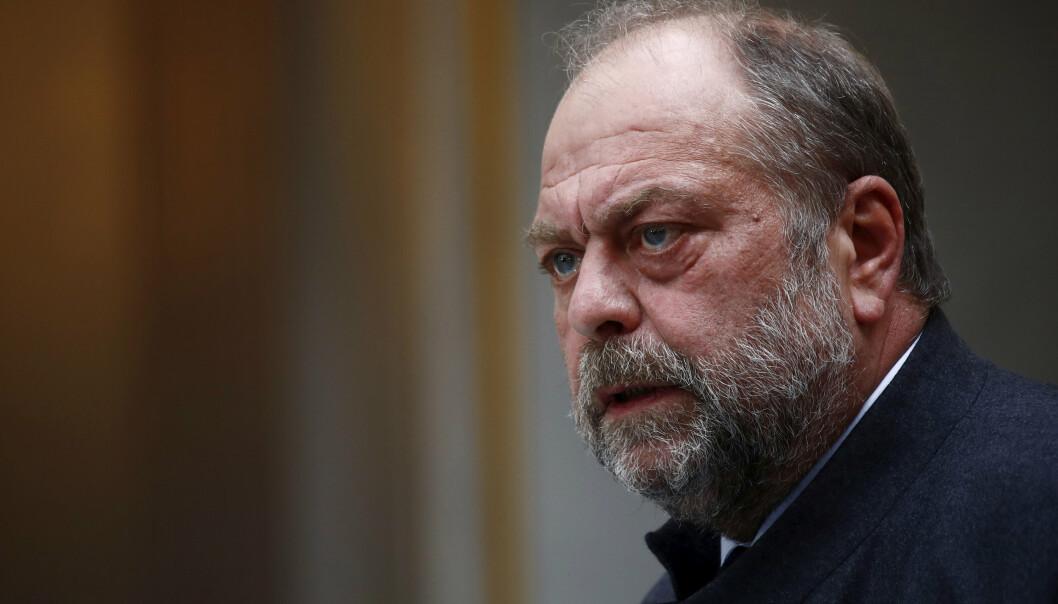 ETTERLYSER: Italienske myndigheter har sendt Frankrike en liste på 200 etterlyste Røde Brigader-medlemmer som befinner seg i Frankrike. Dette er den franske justisministeren Eric Dupond-Moretti.