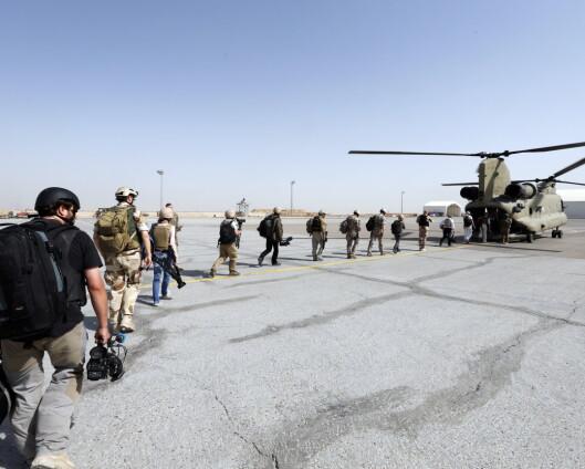 Nato bekrefter at tilbaketrekkingen fra Afghanistan har startet