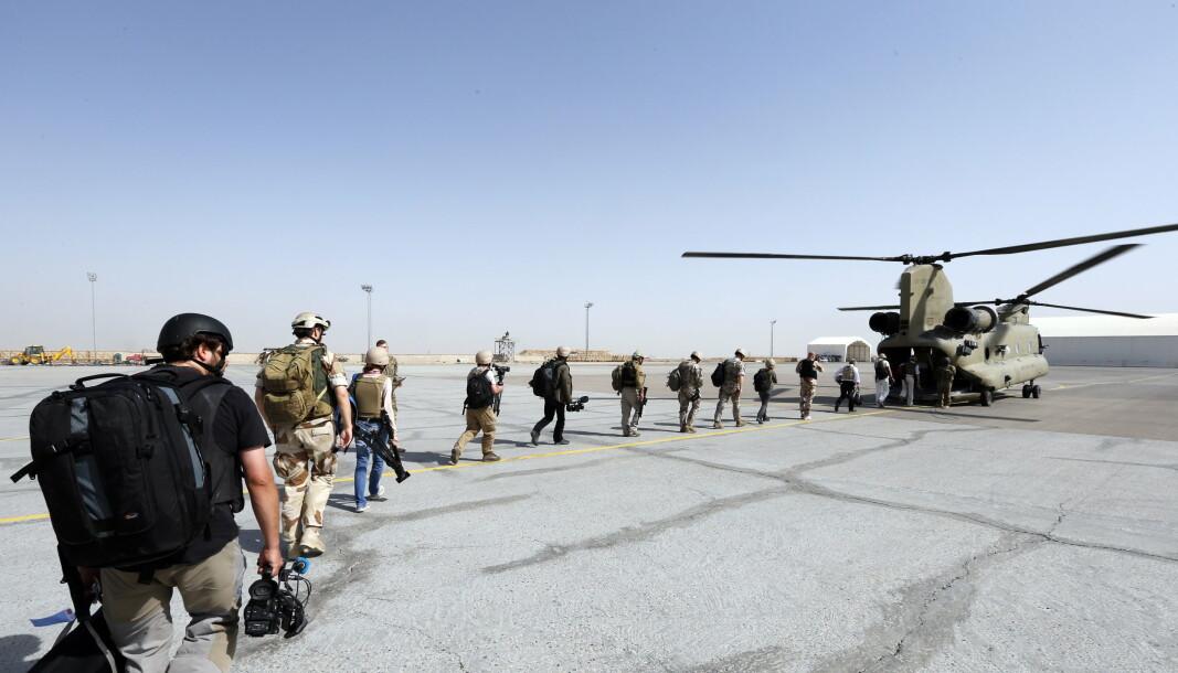 UT: Norske styrker skal være blant de siste som trekkes ut av Afghanistan. Her fra Mazar-e-Sharif i 2012.