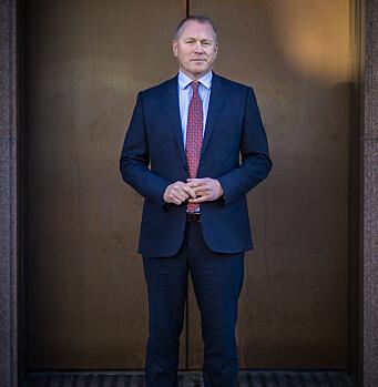 I FORSVARET: Nicolai Tangen avtjente førstegangstjenesten i 1986 og tjenestegjorde i Forsvarets Russiskkurs.
