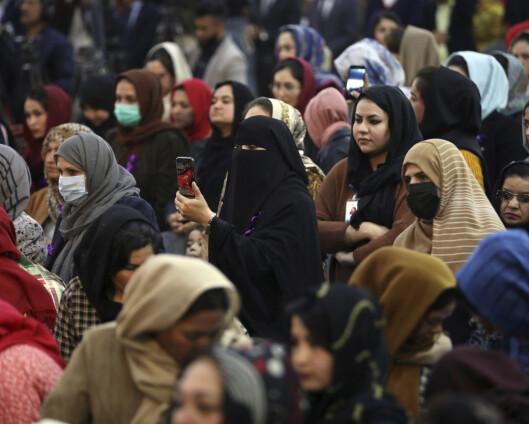 Afghanske kvinner frykter for framtiden etter tilbaketrekningen