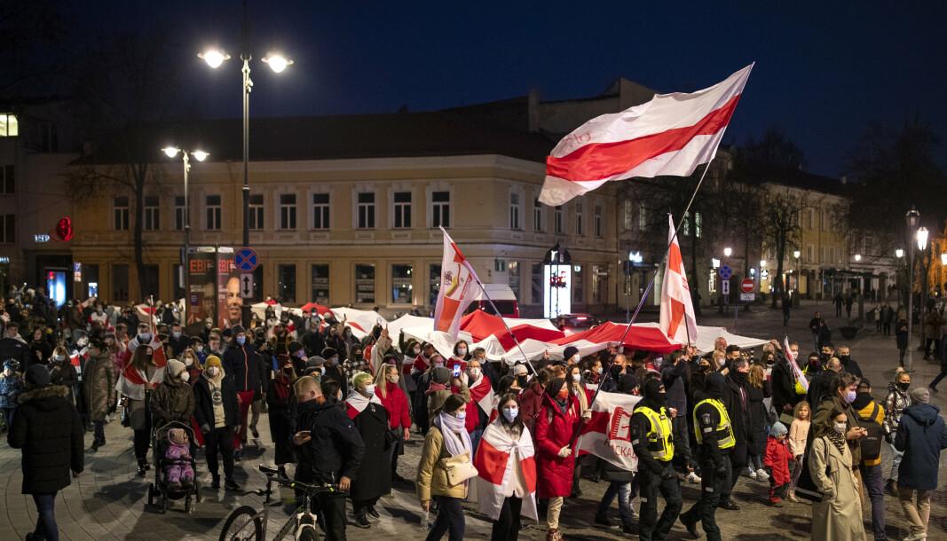 HVITERUSSLAND: Nå varsler opposisjonen nye demonstrasjoner mot Aleksandr Lukasjenko.