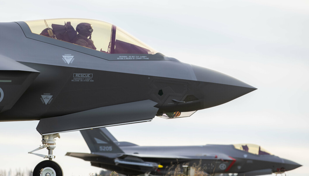 F-35: Her på Rygge og andre norske fly- og sjøbaser ønsker regjeringen at USA skal få sette opp egen infrastruktur med bruksrett.