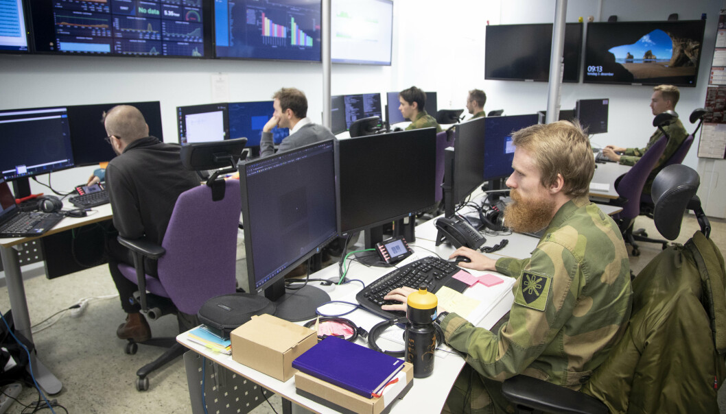Det er flere kategorier av stillinger som nå gjøres om til militære, skriver Eivind Olsen. Her ser vi Cybersikkerhetssenteret på Jørstadmoen.