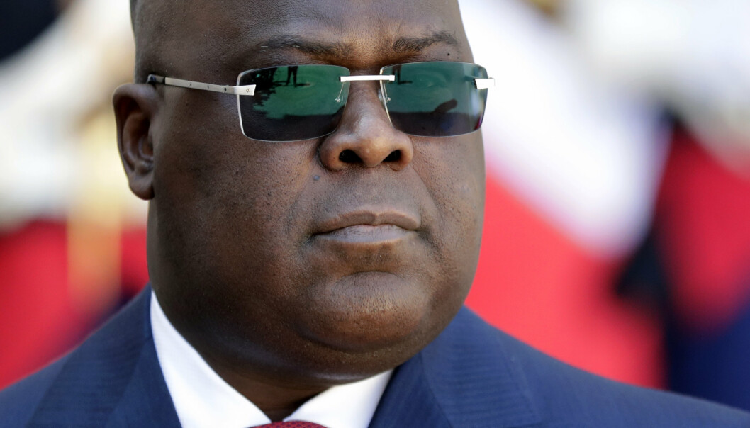 PRESIDENT: Kongos president Felix Tshisekedi erklærte i helgen unntakstilstand i to regioner.